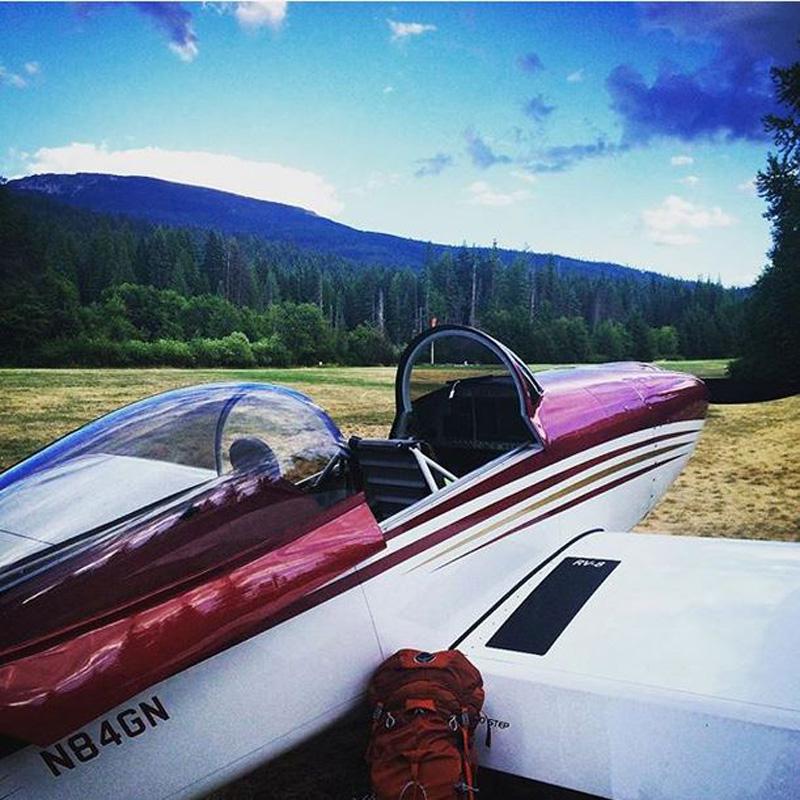 Camping at Cavanugh Bay, Idaho. Photo by Nicholas Blanck.