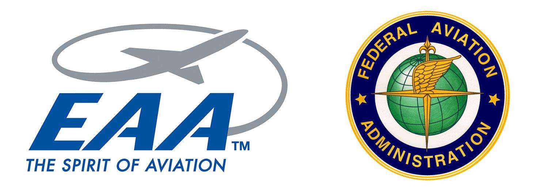 EAA and FAA logos