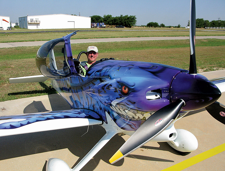 Paul Dye in his RV-3