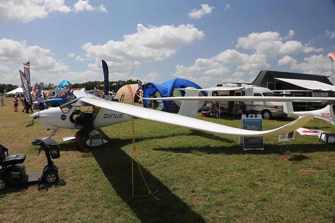Pipistrel Sinus FLEX motorglider