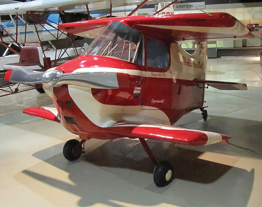 Aircraft worlds smallest manned Colomban (Michael)
