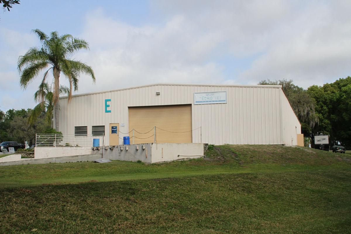 Hangar E, where you'll find the Fly-Market at Sun 'n Fun.