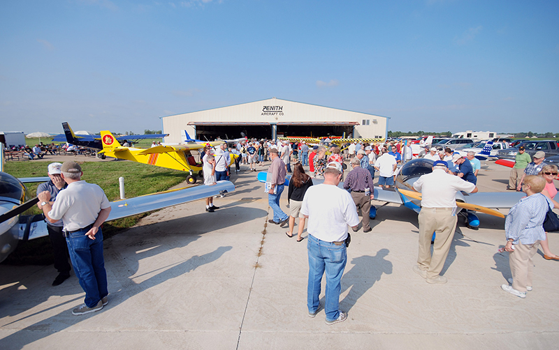 Zenith is hosting a Fly-In to Summer on June 21.