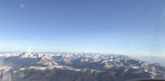 The whole High Sierra spread out to the north