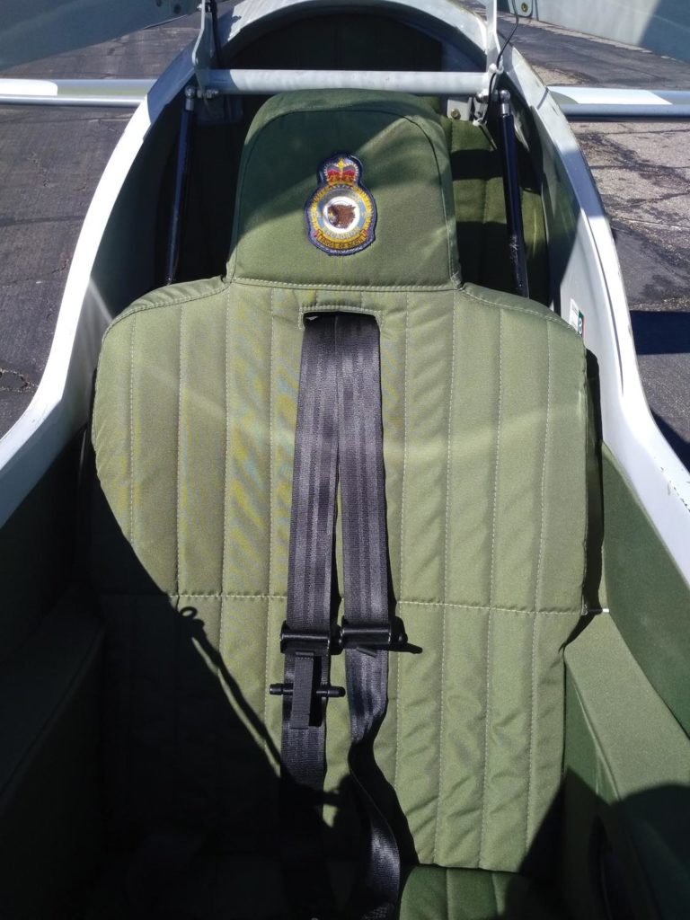 With a military mien, the Turbine Legend looks great in olive-drab upholstery.