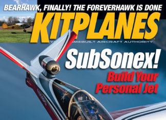 Kitplanes November 2019 cover