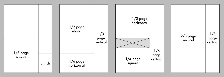 KITPLANES print ad sizes