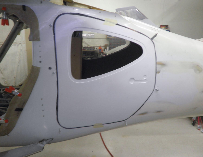 GlaStar large cargo door mod kit