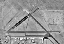 Mojave airport aerial image