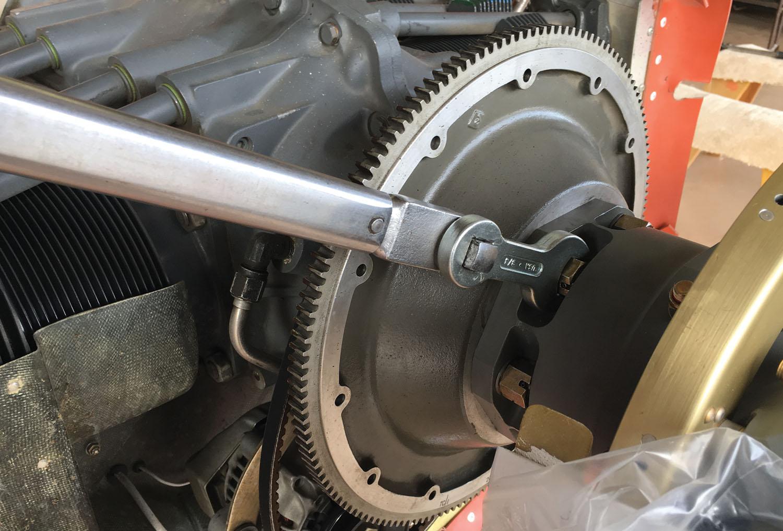 Hartzell prop torque