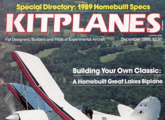 Kitplanes December 1998 Cover