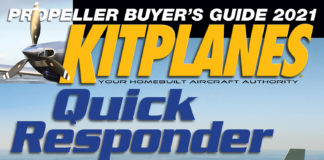 Kitplanes March 2021 Cover