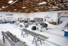 Glasair Aviation assembly shop.