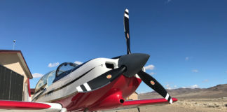 Hartzell 3-blade Explorer propeller