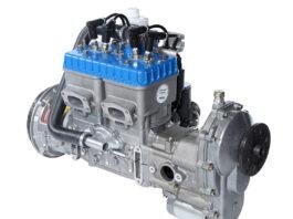Rotax-582 engine