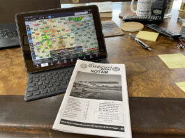 Planning for the trip to Oshkosh.