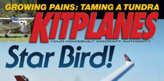 Kitplanes October 2021 Cover
